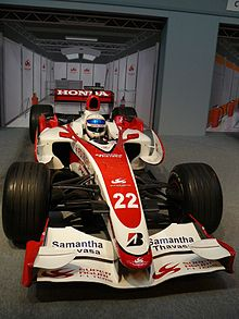 Photo de la SA07 d'Anthony Davidson
