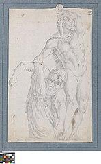 De stervende Galliërs en zijn vrouw