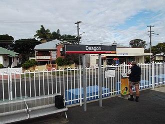 Deagon, Queensland - Deagon Railway Station, Queensland, June 2012