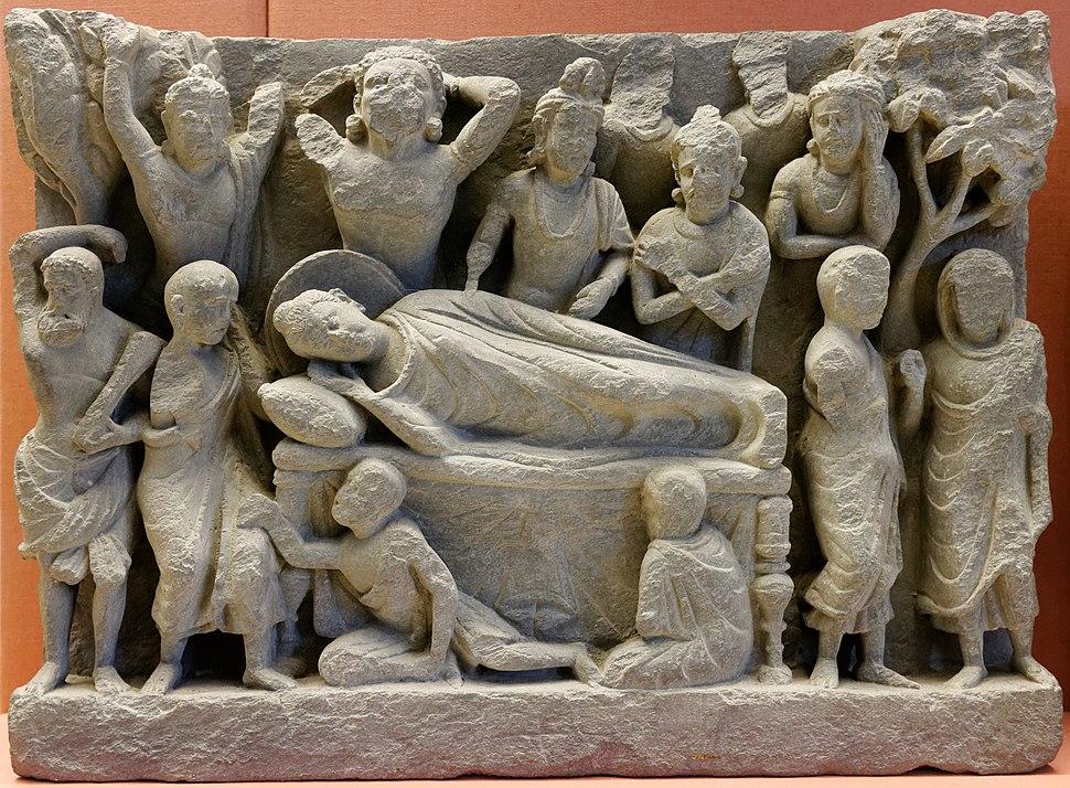 Death of the Buddha BM