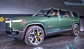 Rivian - R1S SUV at the 2018 LA Auto Show