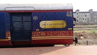 Deccan Odyssey - Image: Deccan Odyssey Train Board
