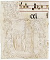 Decorated Initial with Scene of Christ Entering the Temple. MET 1999.391.jpg