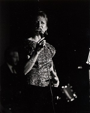 1983 in jazz - Dee Bell performing at San Francisco's Great American Music Hall