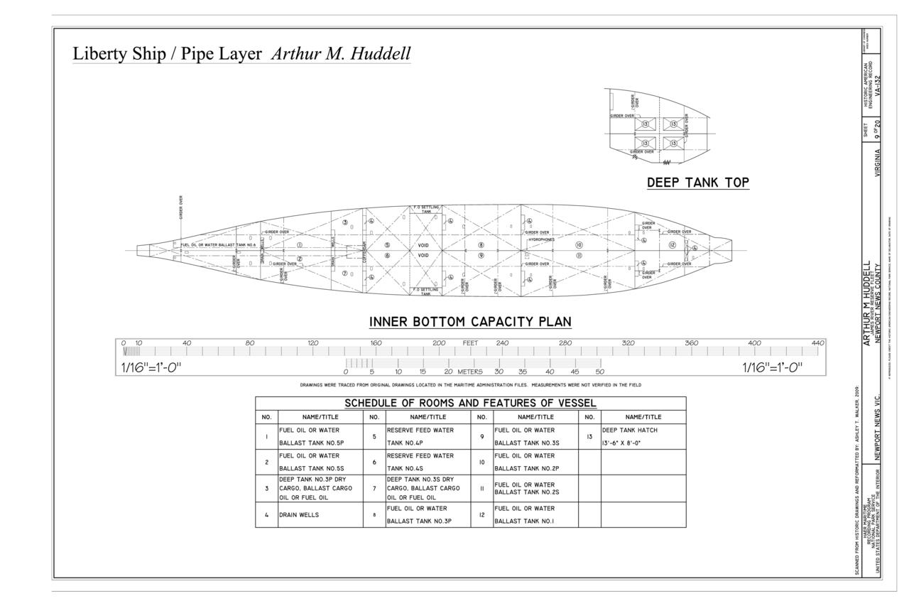 File Deep Tank Top Inner Bottom Capacity Plan Arthur M