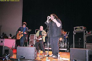 Deep Wound performing in Northampton, Massachusetts in April 2004