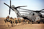 Defense.gov News Photo 120210-M-MM918-002 - U.S. Marines and Afghan border police off-load from a CH-53D Sea Stallion helicopter during Operation Shahem Tofan Eagle Storm in the Garmsir.jpg
