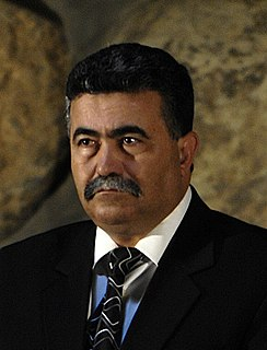 Amir Peretz Israeli politician and the leader of the Israeli Labor Party