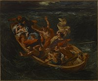 Delacroix - Christ on the Lake of Genesareth, ca. 1853.jpg