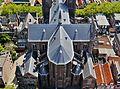 Delft Blick von der Nieuwe Kerk auf die Maria-van-Jessekerk 11.jpg
