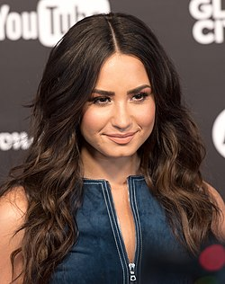 Demi Lovato (Red carpet) - Global Citizen Festival Hamburg 05.jpg