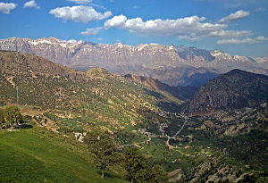 Zagros Mountains - Dena, highest point in the Zagros Mountains