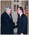 Dennis Hastert and Adam Schiff.jpg