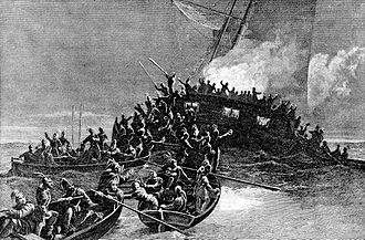 Gaspee Affair - From an old engraving