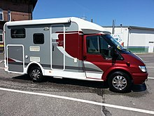 Camping Car Ford Transit  Litres  Chevaux Bo Ef B A