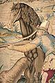 Dettaglio dell'arazzo con la Caccia al cigno, disegnato da Alessandro Allori 2.jpg