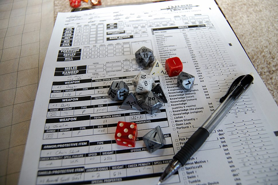 Dice and Character Sheet (3419936702)