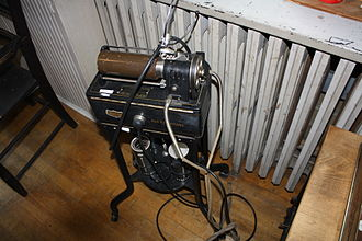 Dictaphone - Dictaphone on display in a museum