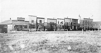 Didsbury, Alberta - Didsbury, circa 1905