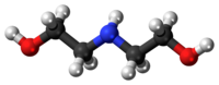 Diethanolamine 3D ball.png