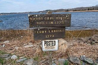 Dighton, Massachusetts - Site of Dighton Ferry Landing