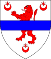 Dillon (OfChymwell BrattonFleming Devon) Arms.png