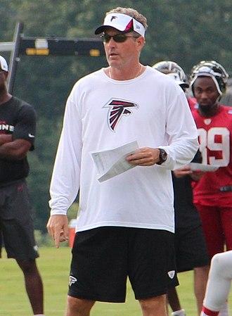 Dirk Koetter - Koetter with the Atlanta Falcons in 2013