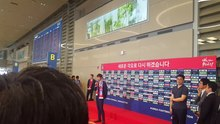 파일:Disbanding ceremony at South Korea national football team in the 2018 FIFA World Cup (2).webm