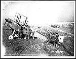 Dismantling an aeroplane, during World War I (2958746108).jpg