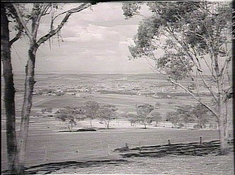 Inverell Times - View of the town of Inverell