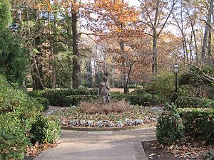 Dixon Gallery and Gardens - Sculpture in the Formal Gardens