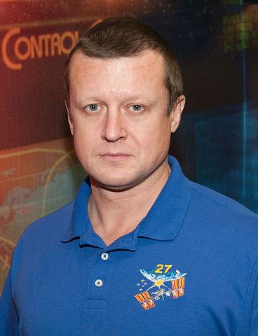 Cosmonaut Dmitry Kondratyev, Expedition 26 flight engineer and Expedition 27 commander, NASA photo (15 Sept. 2010) 368px-Dmitri_Kondratyev_2010.jpg