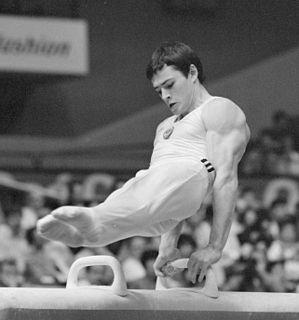 Dmitry Bilozerchev Russian gymnast