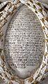 Domenico gagini, angeli che reggono una ghirlanda coi lavori commissionati da lionello e manuele grimaldi, 1453, 03.jpg