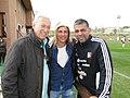 Domingo Cirigliano, Claudio Caniggia y Alirio Granadillo.jpg