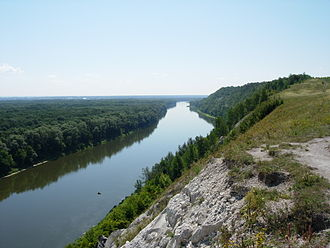 Don River - The Don River in Voronezh Oblast.