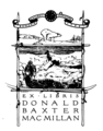 Donald Baxter MacMillan bookplate.png
