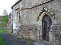 Doorway, Holy Trinity Church, Bowerchalke - geograph.org.uk - 795954.jpg