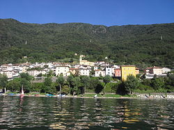 Dorio seen from the lake