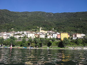 Dorio, Lombardy - Dorio seen from the lake