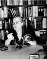 Doris M. Cochran with Snake, 1954, Image ID 96-952.tif