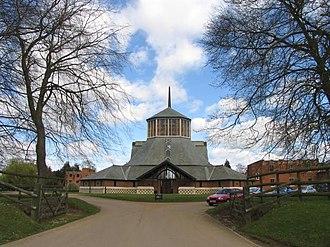 Douai Abbey - Image: Douai Abbey, geograph