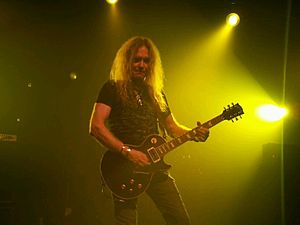 Saxon (band) - Doug Scarratt joined the band in 1996.