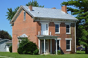 National Register of Historic Places listings in Lewis County, Missouri - Image: Dr. J.A. Hay House