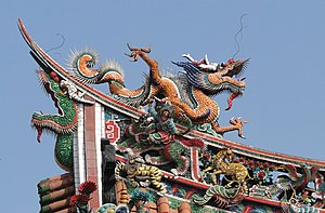 Dragon on Mengjia Longshan Temple.jpg