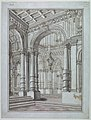 Drawing, Stage Design, View into Palace, early 18th century (CH 18357367).jpg