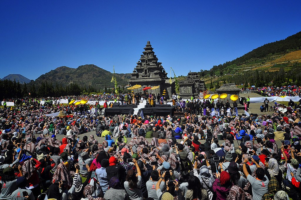 Dreads Hair Cutting Ceremony at Dieng Culture Festival