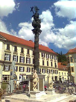 Dreifaltigkeitssäule Karmeliterplatz Graz