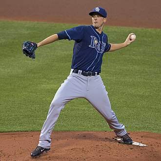 Drew Smyly - Smyly with the Tampa Bay Rays in 2015