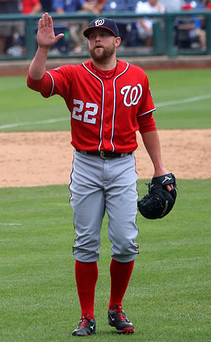 Drew Storen - Storen with the Washington Nationals in 2015